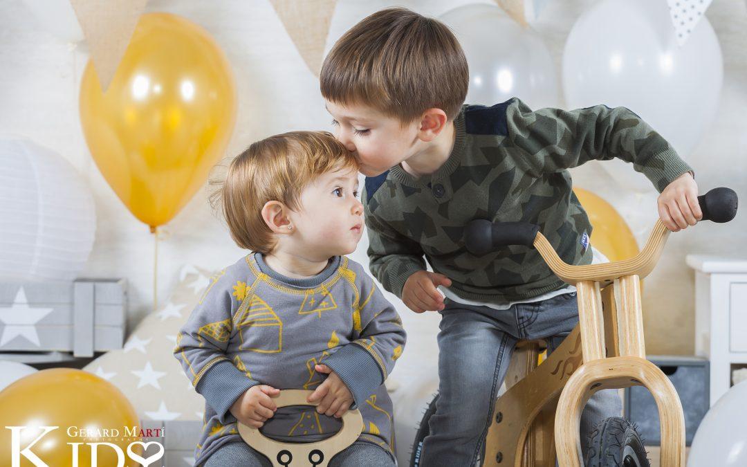 Kids & Love amb el Jofre i la Bruna